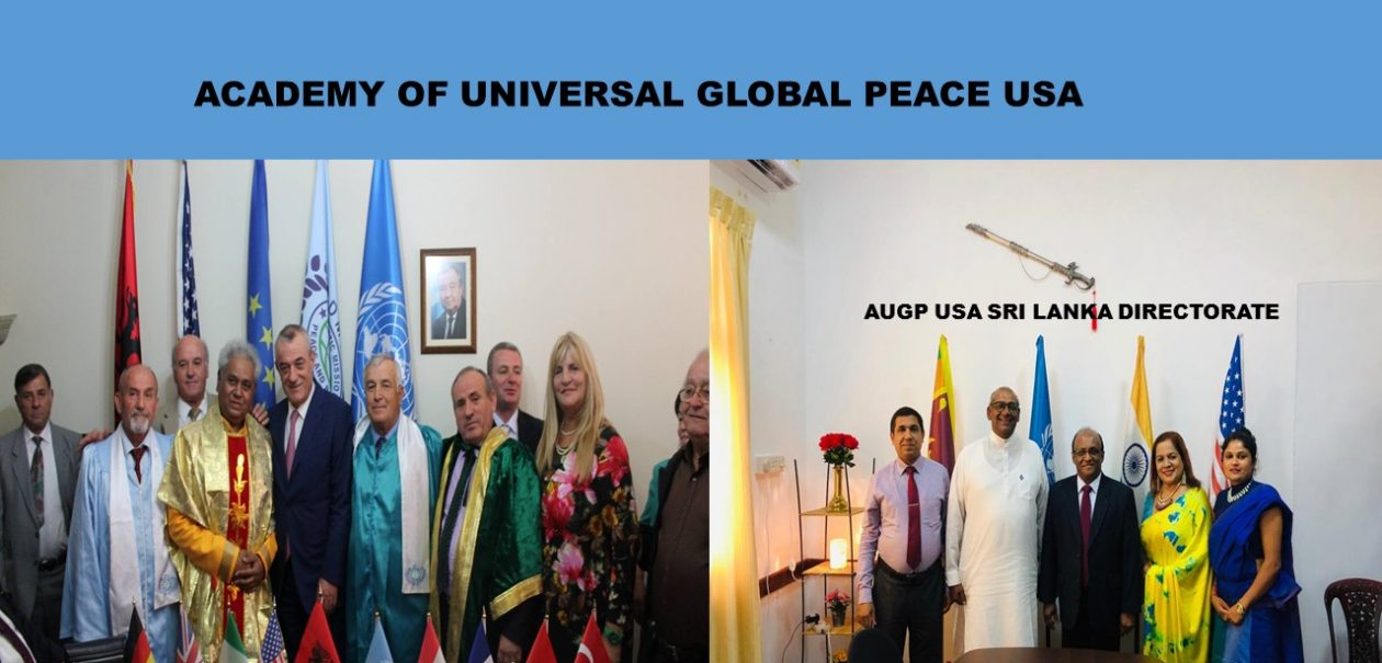 Academy of Universal Global Peace USA- Official Website